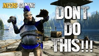 Never Do This on a Boat!!! - Ark Survival Evolved