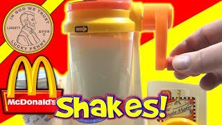 McDonald's Happy Meal Magic 1993 Shake Maker Set - Making Milk Shakes! thumbnail
