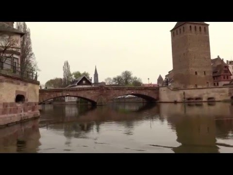 Petite France - Strasbourg - Strasbourg Cathedral and Batorama