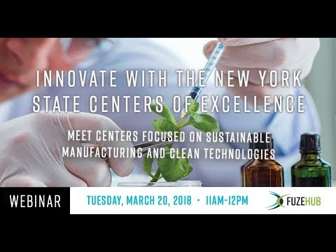 Innovate with the New York State Centers of Excellence