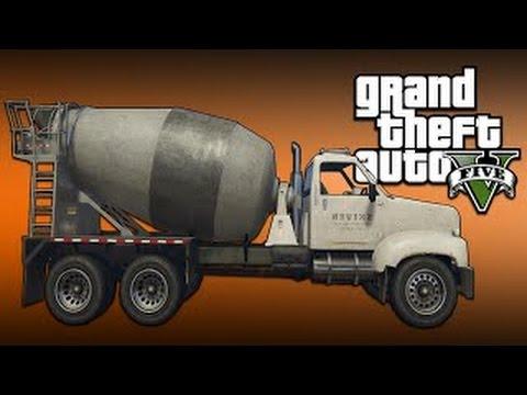 GTA 5: Phá hủy xe bồn xi măng