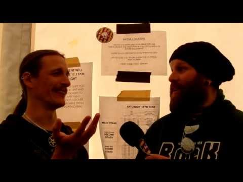 Katatonia Interview Download Festival June 2013