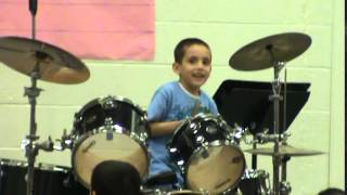 Newsboys Live with abandon drum cover performed by Victor Castaneda