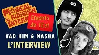Video Interview de Vad Him et Masha youtubers franco-russes download MP3, 3GP, MP4, WEBM, AVI, FLV November 2017