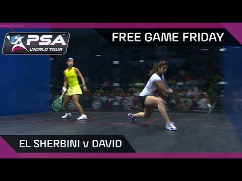 Squash: Free Game Friday - El Sherbini v David - Women's World Championship