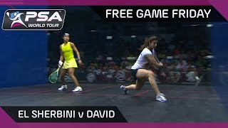 Squash: Free Game Friday - El Sherbini v David - Women
