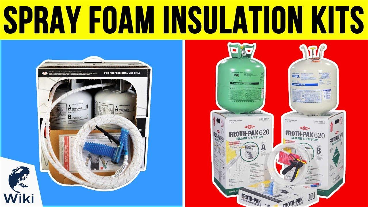 Green Spray Foam Insulation Kit