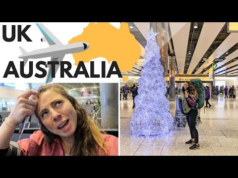 London To Melbourne ✈️ONE WAY Flying Vlog // See You In 7 Months!
