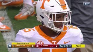 Alabama vs Tennessee, 2017 (in under 33 minutes)
