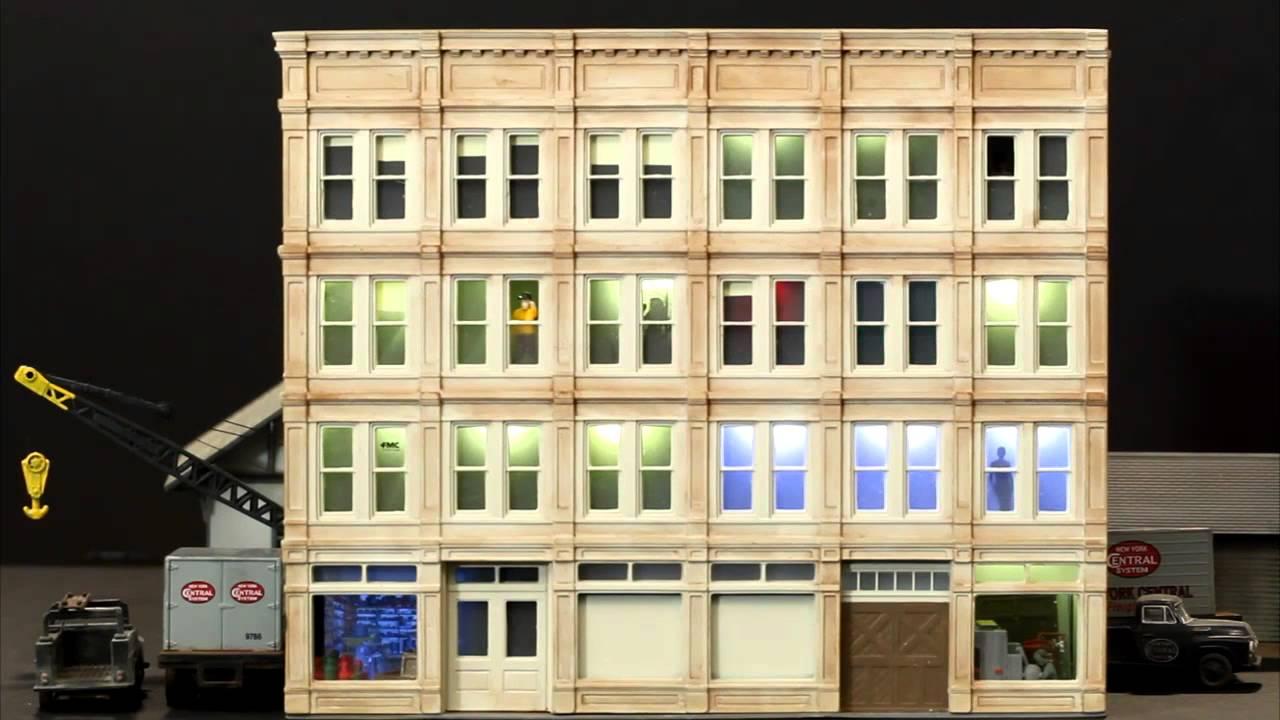 Arduino animated lighting | Structure lighting | Model Railroad Hobbyist |  MRH