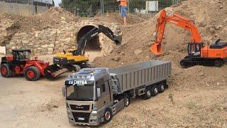 Concentración CAMIONES RC CLUB VLC N-340,  RC Trucks,maquinaria pesada a Radio control.