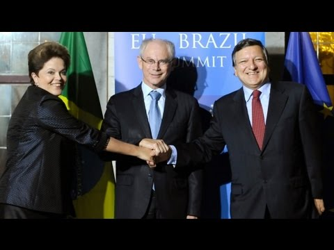 Brazil's Roussef warns EU over too much austerity