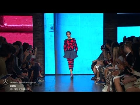 DKNY: MERCEDES-BENZ FASHION WEEK S/S15 COLLECTIONS