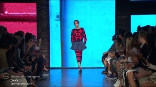 dkny mercedes benz fashion week s s15 collections