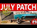 PUBG Xbox Game Preview Patch 17 / July Update / Huge Performance & Content Update
