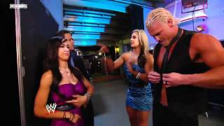 WWE NXT  Kaitlyn and Dolph Ziggler are caught kissing