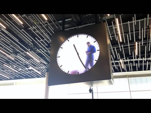 Schiphol Airport Clock