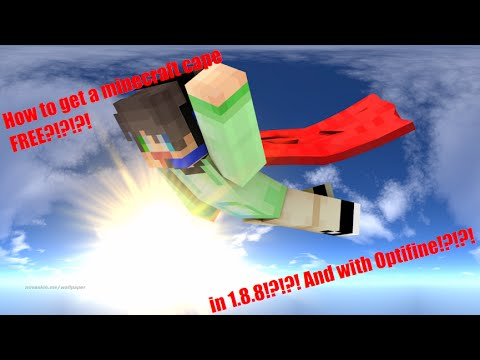 how to get a cape in minecraft 1.8.8