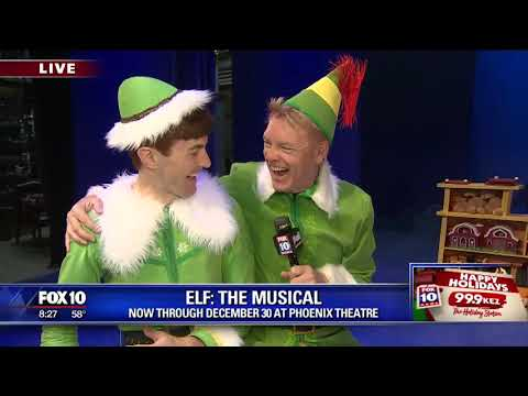 Elf the Musical now playing