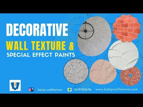 Decorative Wall Texture , Heritage Plaster, Texture Coating & Texture paint By  Balaji  Wall Texture