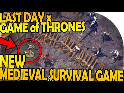 NEW MEDIEVAL LAST DAY ON EARTH SURVIVAL GAME (GoT x LDoE) - Grim Soul Dark Fantasy Survival Gameplay
