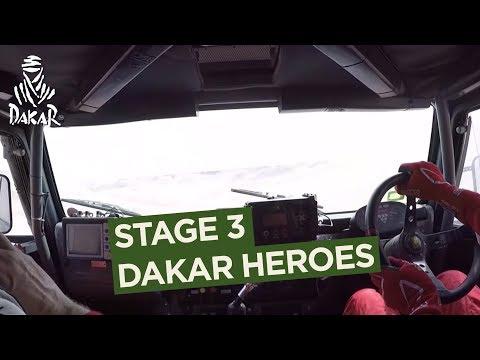Dakar Heroes - Stage 3 (Pisco / San Juan de Marcona) - Dakar 2018
