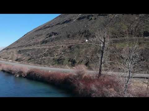 Fly Around - East Yakima - Rattlesnake Ridge Landslide