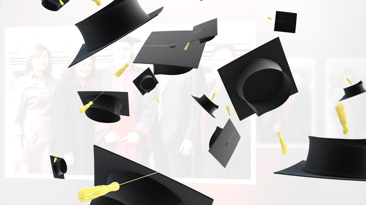Free Graduation Cap Toss Transition For Proshow Youtube