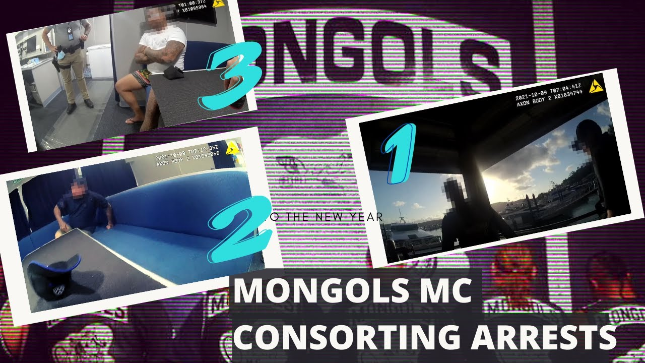 Three Mongols MC members arrested for consorting