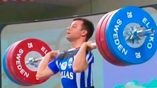 2002 European Weightlifting Championships, Men 62 kg \ Тяжелая Атлетика. Чемпионат Европы
