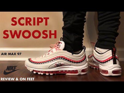Nike Air Max 97 Script Swoosh Review