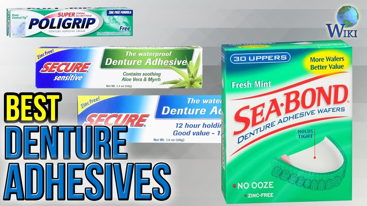 7 Best Denture Adhesives 2017 - YouTube
