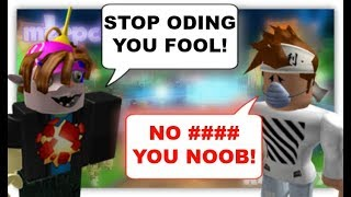 ROBLOX Trolling at Meep City