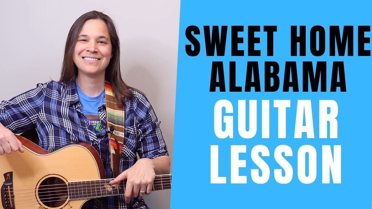 Review the e5, a5 and b5 chords in both positions ♢ review the i, iv, v chord progression ♢ play sweet home chicago using the blues rhythm riff. Sweet Home Alabama Chord Chart And Guitar Lesson By Lynyrd Skynyrd Lauren Bateman