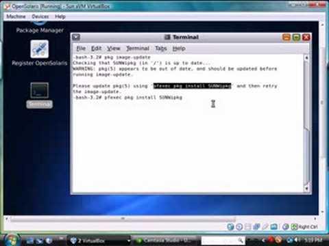 Unix 101 Update Open Solaris Operating System