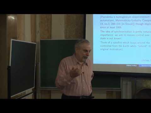 Лекция 1   Синхронизируемые автоматы   Михаил Волков    Лекториум