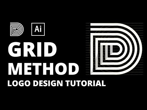 D Logo Design Tutorial Using Grid Method thumbnail