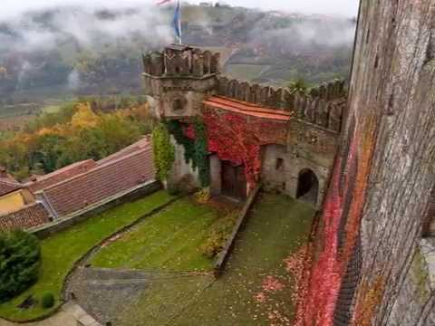 "Piemonte region Italy, ""The living castles"" video 1"
