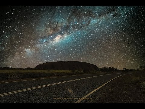 From Dawn to Dusk at Ayers Rock Time Lapse Video Full HD