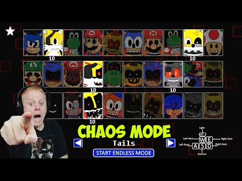 SONIC'S PIZZERIA SIMULATOR CHAOS MODE - ALL TAILS NIGHT | LAST CERTIFICATE - HELL AND BACK ACHIEVED