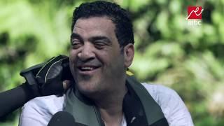 رد فعل طاهر أبو ليلة ونور قدري بعد رؤية رامز جلال