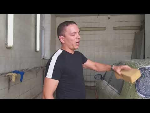 Как мыть машину после нанесения жидкого стекла