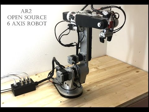 AR2 OPEN SOURCE 6 AXIS ROBOT OVERVIEW