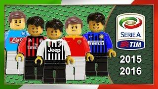Serie A 2015/16 Sintesi e Goal campionato in Lego Calcio - Film Lego Football Highlights