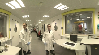 Shell Technology Center Hamburg virtual Tour 360 - Component Test Center