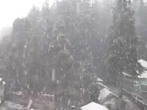 Shimla  christmas Snowfall december 2016