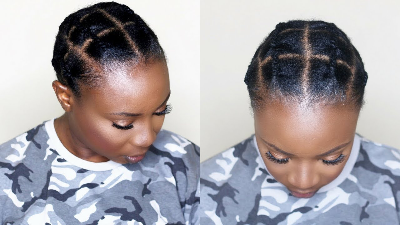 How To Basic African Threading Method Youtube