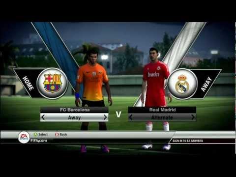 FIFA 12 Barcelona 2012 / 2013 Kit