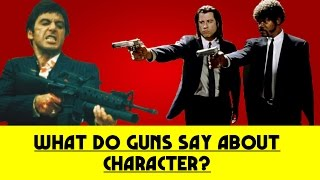 What Do Guns Say About Characters in Movies?
