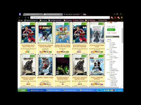 Easy!! Step By Step How To Download And Burn Any Xbox 360 ISO Game Full Tutorial 2014